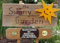 Sunny Garden sign.
