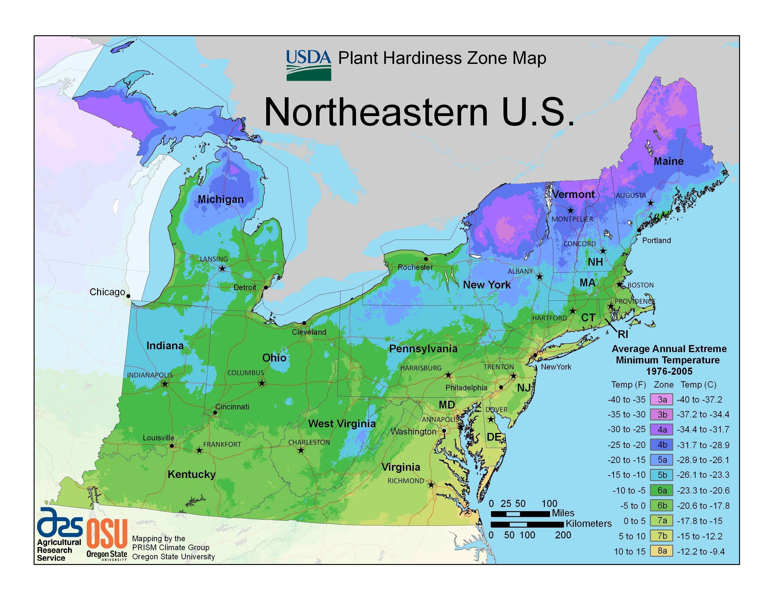 USA Map States And Capitals Southern Border Region California OC - Us fema regions map