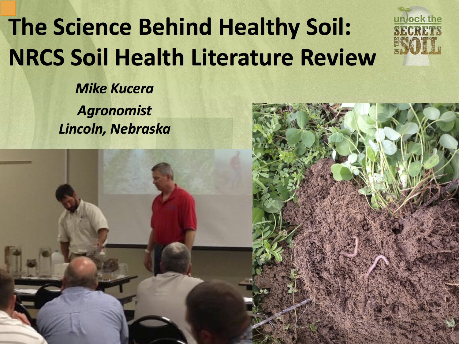 Online continuing education opportunities for master for Give the scientific word for soil