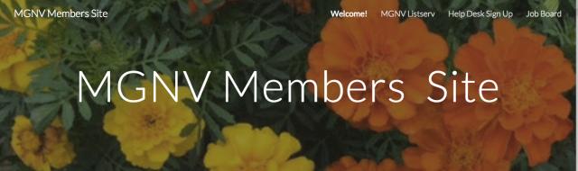 MGNV Members Site