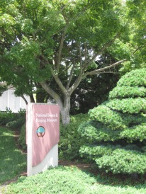 Museum sign at the National Bonsai and Penjing Museum