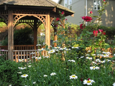 Gazebo at the Glencarlyn Garden