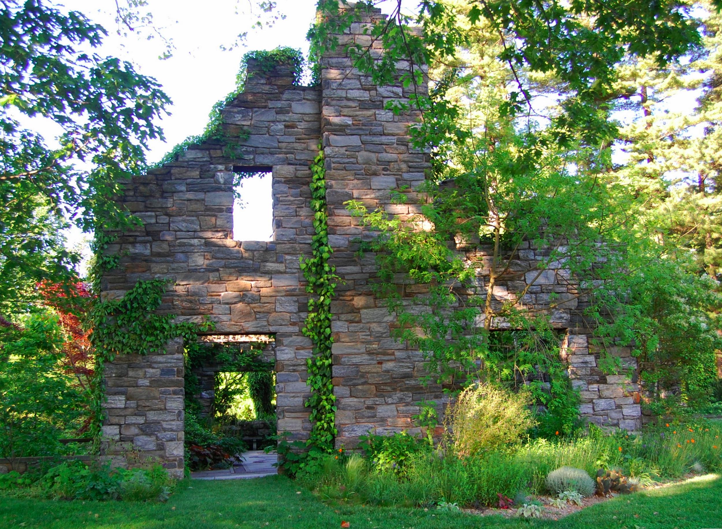 Quarry Shade Garden At Bon Air Park: Regional Gardens: Chanticleer Garden