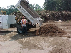 Leaf mulch – 2.5 cubic yards: $50