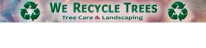 We Recycle Trees Logo