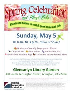 Flyer about Glencarlyn Spring Celebration